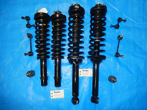 New Honda CRV 1997-2001 Struts Shocks Ball Joint Stabilizer Link