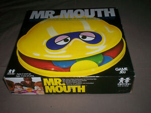 RARE VINTAGE 1976 MR. MOUTH GAME BY TOMY 100% COMPLETE