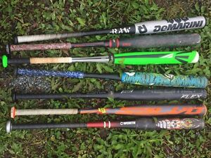 Bats for sale making room for new , priced to sell