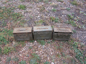 3 Small Ammo Boxes Moose Jaw Regina Area image 3