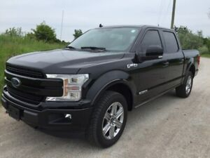 2018 Ford F-150 Lariat Diesel SuperCrew, Loaded!