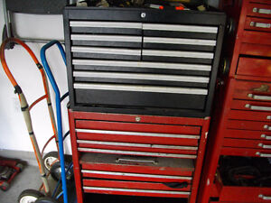 tool boxes & large assortment of tools