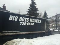 BIGBOYSMOVERS.ca ...Your Professional Movers... 738-6653