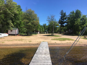SAND BAY FAMILY CAMPGROUND ON KAMANISKEG LAKE! BOOK NOW 2019!