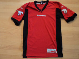 CALGARY STAMPEDERS JERSEY SIZE M