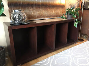 Solid Wood Buffet Table/ TV Stand