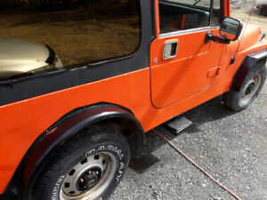 1991 jeep yj needs work for mvi
