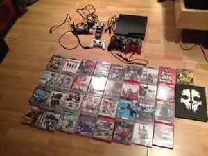 PS3 --5 manettes--35 jeux