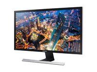 "Samsung 28"" led 4K monitor"