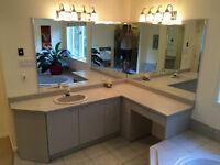 CHAMBRE DE BAIN - Bain, vanité, douche, toilette, ...