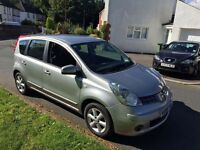 NISSAN NOTE 1.4 GREAT VALUE CHEAP CAR 2008 (08)