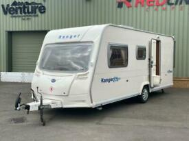 3,4,5 berth 2006 double dinette Bailey Ranger 500/5 family caravan
