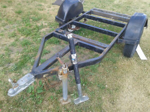 Utility Motorcycle Trailer $450