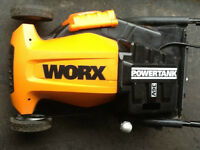 WORX WG781 lawn mower for parts - $99 today only!