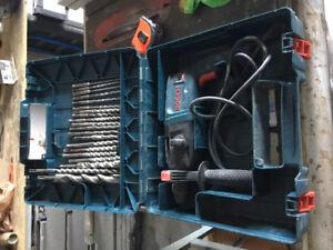 Concrete hammer drill