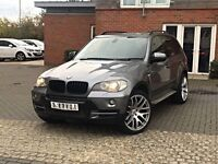 2008 BMW X5 FACELIFT 3.0D DYNAMIC SPORT PACK SE HPI CLEAR FSH