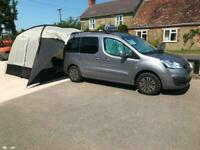 Peugeot Partner Tepee MICRO CAMPER with Awning