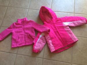2 IN 1 GIRLS FALL/ WINTER JACKET SIZE 3T