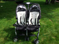 TWIN STROLLER FOR SALE...EXCELLENT CONDITION!