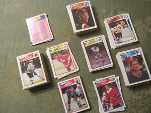1988-89 OPC hockey card set: Gretzky, Lemieux, Roy, Hull RC
