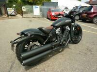 Indian Scout Bobber 2-tone