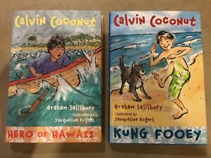 CALVIN COCONUT books for kids......
