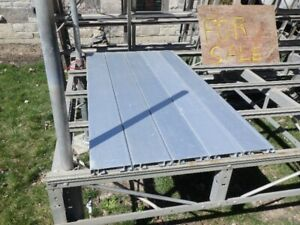 aluminum dock and stairs