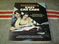 Chilton's Easy Car Care
