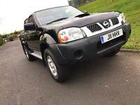 Nissan Navara Pickup (2001 - 2005) D22 2.5 Di Sport Crewcab Pickup 4dr