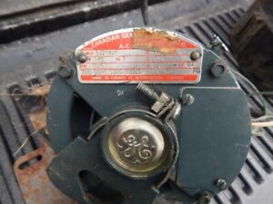 General Electric 1/3 HP, Utility Motor + Other