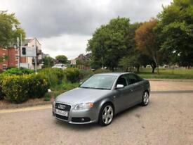 2005/55 Audi A4 2.0 TDI S Line 4 Door Saloon Grey