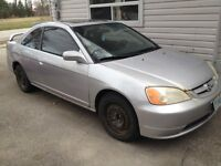 2002 Honda Civic Si Coupe (2 door) $1450 OBO