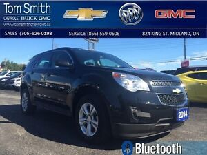 2014 Chevrolet Equinox   - Certified - BLUETOOTH -  CRUISE