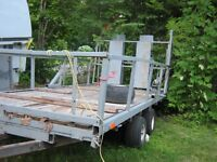 trailer plate forme 6x12