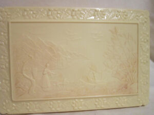 French Ivory(Plastic) - Jewelry/Dresser Box