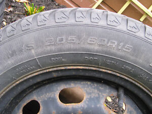 4 - Good Year Eagle Ultra 205 60 R 15 M & S Snow Tires For Sale Kawartha Lakes Peterborough Area image 3