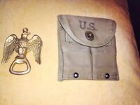 U.S army collectible paraphernalias