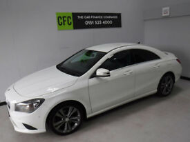 2014 Mercedes-Benz CLA 220 2.1CDI 170 Sport auto BUY FOR £299 A MONTH FINANCE