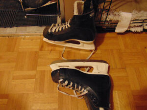 1 pear of skates size 8 in good shape to small got bigger size