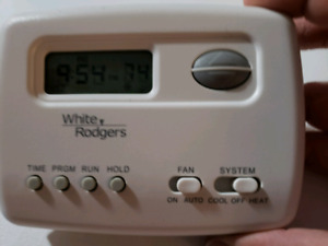 Digital Programmable White Rodgers Thermostat