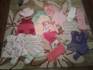 Toddler girl summer clothes lot 18mos to 2t
