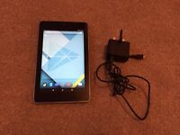 Asus Nexus 7, 1st Generation, 32GB, WIFI, android 5.1 in excellent condition with charger