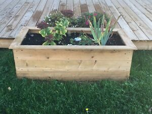 Custom Outdoor Planter Boxes And Wood Racks