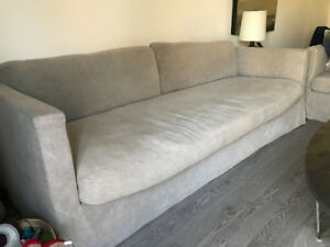 Linen Sofa for sale, very good condition.