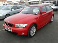 2006 BMW 1 SERIES 118i SE Automatic 5 Door From GBP7,495 + Retail Package
