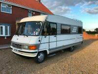 1992 FIAT HYMER B544 MOTORHOME 6 BERTH LEFT HAND DRIVE PULLDOWN DOUBLE BED