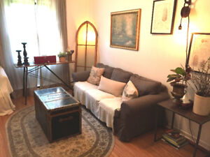 short/long term | atwater mkt & saint henri | fully furnished