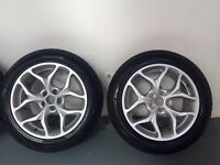 "19""5 Stud Alloy Wheels [COMPLETE WITH NEW WINTER TYRES]"