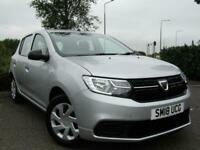 DACIA SANDERO0.9TCe AMBIANCE ONLY 7000 MILES IN SILVER