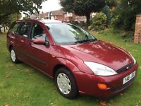 FORD FOCUS ESTATE LONG MOT STARTS AND DRIVES PERFECT
